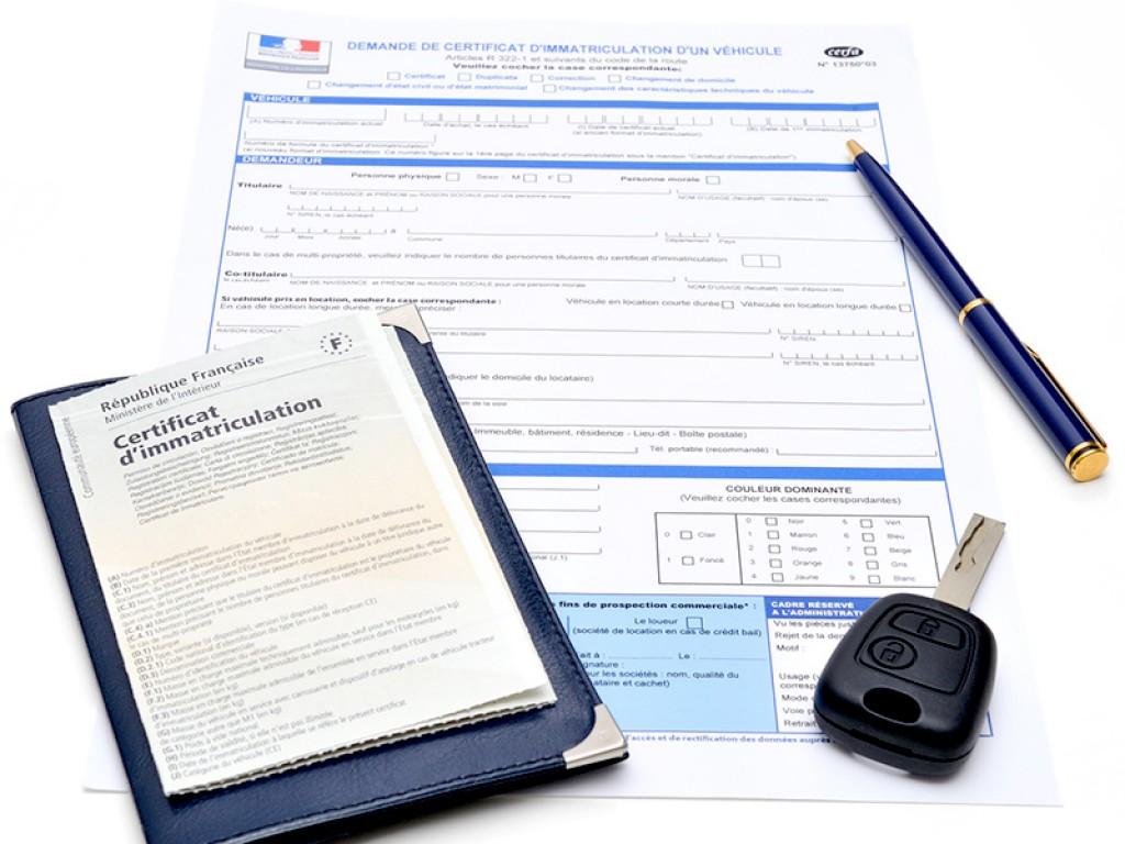 Documents A Fournir Pour L Immatriculation D Un Vehicule Cerfa