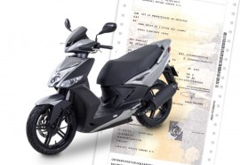 Changement carte grise scooter